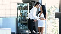 HD PureMature - Exotic Anissa Kate serves drink...