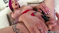Kinky as Fuck Anna Bell Peaks likes Pussy Clamps