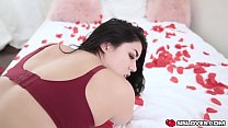 Valentines day hot sex with stepsis Monica Sage porn image