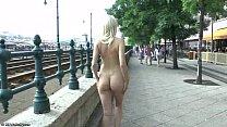 Sweet blonde teen Karol nude in public Vorschaubild