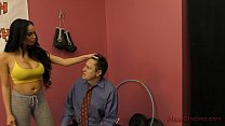 Victoria Makes the Gym Manager Kiss Her Ass - Victoria June - 9Club.Top