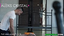 Surprise Visit by Babe Girlfriend Alexis Crystal for some Romantic Fun - 69VClub.Com