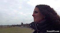 German Scout - Teeny Mara Anal gefickt und rein gewichst Image