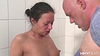 MMV FILMS German Mom draining the plumber Vorschaubild