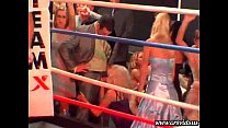 V.I.P.-only underground boxing match