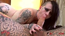 Alt Babe Mallory Maneater Loves A Cum Reward