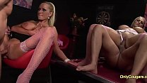 Three Horny Britsh Cougars With Huge Boobies Has An Orgy To Get Pregnant Vorschaubild