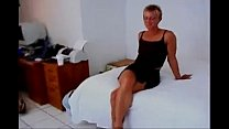 Fit short haired milf fucks BBC then a girl wit... Thumbnail