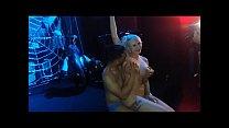Sherif Taliani with porn star Jarushka Ross in live show صورة