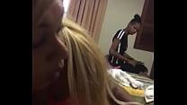 Two girls stealing