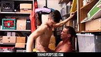Office Beeg ~ twink caught stealing fucked by security thumbnail