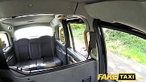Fake Taxi Lady in short dress gets a taxi creampie thumbnail