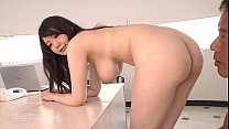 Big titted office MILF fucks at work - Rie Tachikawa video