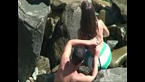 flagrada na praia pornhub video
