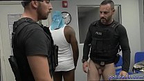 Muscle cop tries gay sex xxx Prostitution Sting