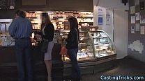 Doggystyle fucked eurobabe filmed on sextape