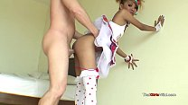 free afro porn - Hot Thai EMO chick can ride cock perfectly thumbnail