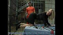 Dirty Milf Warden Fucks Inmates | xvideosgangbang thumbnail