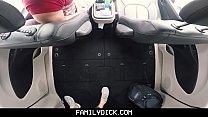 Muscle Bear Dad Fucks Boy In Car For Smoking