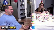 BANGBROS - Young Black Teen Holly Hendrix Receives Anal From Peter Green On Her Birthday