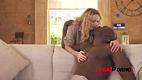 Big Black Stud Gives Milf Amber Jayne Multiple Orgasms With His Huge Cock Gp159