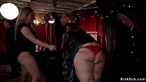 Mistress whips fat lady and other subs video