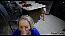 Daughter caught mother with her BF while DADs gone