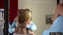 Hairy stepdaughter banged passionately preview image