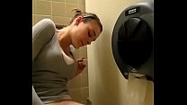 Girl squirting in bathroom moaning Image