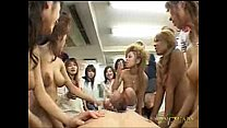 Japanese schoolgirls groupsex