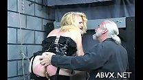 Bbw chick severe stimulation in complete thraldom scenes