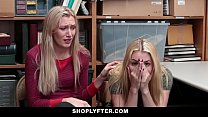 Shoplyfter - Young Daughter Fucks Cop To Save Mom image