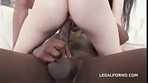 10390 Petite White Whore Interracial Gangbang preview