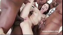 Petite White Whore Interracial Gangbang [갱뱅 gangbang]