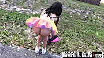 Mofos - Stranded Teens - Ebony Raver Gets Freak...