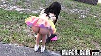 Mofos - Stranded Teens - Ebony Raver Gets Freaky in Field starring  Maya Bijou and Tony Rubino