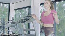 Sweetheart Trainer Lena Paul Disciplines Spoiled MILF Alexis!