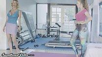 Sweetheart Trainer Lena Paul Disciplines Spoiled MILF Alexis! - download porn videos