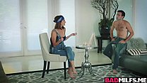 Izzy Bell and Silvia Saige riding great manhood pornhub video