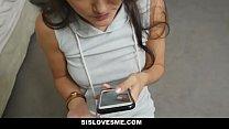 SisLovesMe - Slutty Stepsis Fucks Me For Cash - 9Club.Top