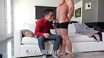 ManRoyale Big dick catered to tight ass
