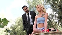 Horny teen vamp Kiara Cole seduces Gentleman to...