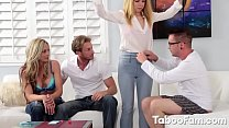 Alina West Plays Games with Fam