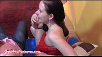 Lucky guy has fun with two czech teens image
