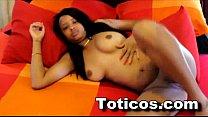 Toticos.com 19yo dominican teen shower & blowjob ft. Ashlei