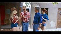 Cowgirl DAD DAUGHTER Gangbang- Britney Light & Rosalyn Sphinx pornhub video