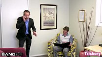 Maddy O'Reilly fucks the therapist while her husband waits - 9Club.Top
