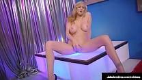 Stripper Mom?! Big Tits Cougar Julia Ann Finger