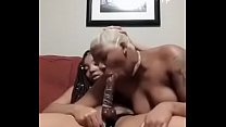 KIA RIDING AND SUCKING DYME DILDO WHILE SHES PL...