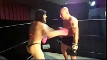 UIWP ENTERTAINMENT INTERGENDER MATCH 202 lb Amazon Women vs Man